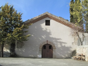 La Puebla de Castro. Iglesia de Santa María