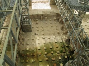 Yacimiento de Labitolosa. Termas I. Tepidarium