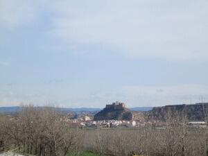 Castillo de Monzón, desde Conchel