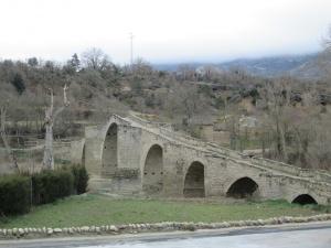 Capella. Puente medieval