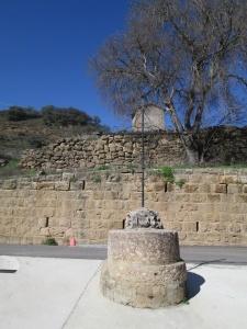 Huerta de Vero. Antiguo crucero