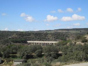 Pozán de Vero. Acueducto del canal del Cinca
