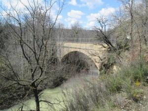 Acueducto La Canal, río Vero