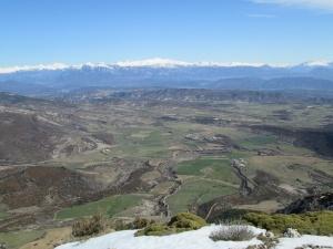 Tozal de Asba. Vista del Sobrarbe