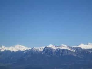 Tozal de Asba. Vista de Peña Montañesa
