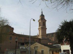 Alcolea de Cinca. Torre de la iglesia