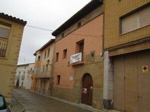 Villanueva de Sigena. Casa natal de Miguel Servet