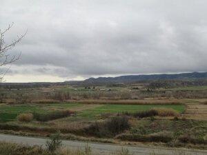 Sierra de Sigena. Vega del río Alcanadre