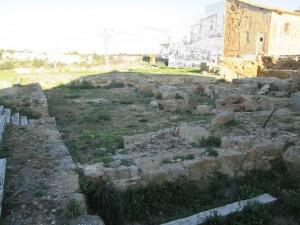 Siétamo. Ruinas castillo del Conde de Aranda
