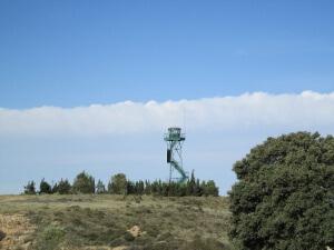 Estrecho Quinto. Torre de vigilancia