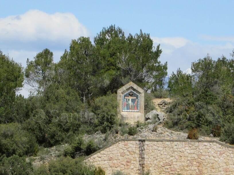 Torreciudad. Estación del Vía Crucis