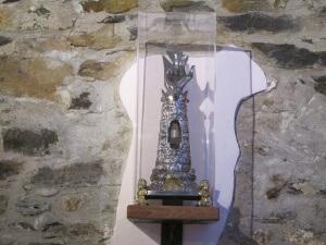 Barbaruens. Reliquia de San Pedro