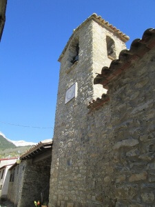 Barbaruens. Iglesia parroquial