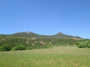 Sierra de Berganuy. Camino de Iscles