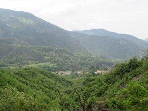 Camino de Seira. Al fondo Seira