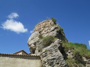 Alins del Monte. Ruinas del castillo