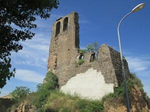 Alberuela de la Liena. Ruinas antiguo castillo