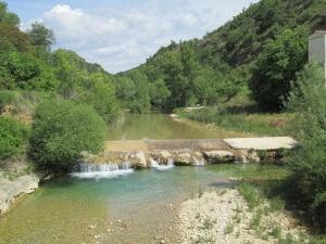 Alberuela de la Liena. Río Isuala