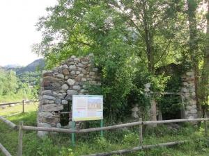 Sesué. Ruinas antiguo molino