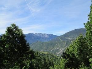 Sierra de Chía y macizo Baciero al fondo