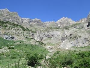 Valle de Pineta. Macizo Monte Perdido