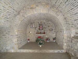 Tella. Interior Virgen de la Peña