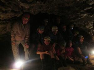 Tella. Interior Cueva de los Osos