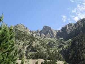 Valle Barrosa. Sierra de Liena