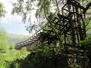 Valle de Barrosa. Teleférico Mina Luisa