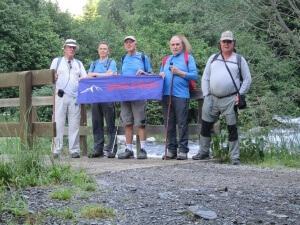 Valle de Estós. Palanca de Aiguacari. Caminantes de alpargata