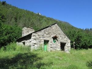 Valle de Estós. Cabaña Santa Ana