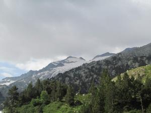 Pico Aneto y glaciar