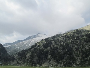 Pico Aneto y su glaciar