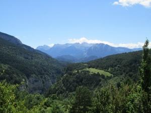 Valle de Escuaín. Al fondo el macizo de Cotiella