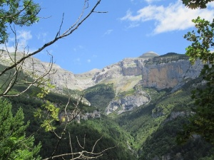 Valle de Escuaín. Rincón de Angonés