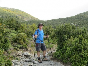 Subiendo al Pico Mondoto