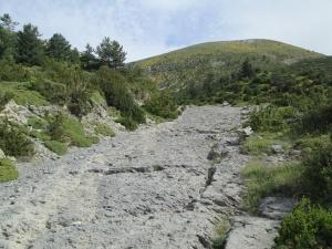 Barranco Ballatar. Subiendo al Pico Mondoto