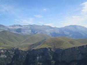 Sierra de Las Tucas, desde el Pico Mondoto