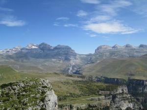 Monte Perdido; Collado de Añisclo; Las Tres Marías