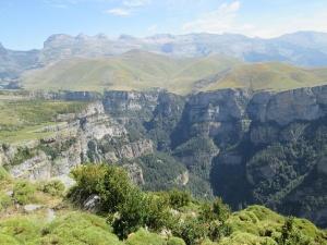 Cañón de Añisclo, desde el Pico Mondoto