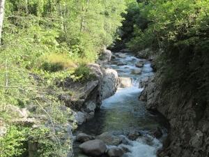 Río Cinqueta/Zinqueta. Puente Pecadores