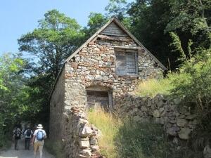 Bordas subiendo al Refugio de Viadós/Biadós