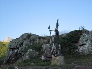 Somport. Monumento al Peregrino
