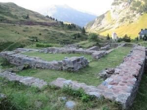 Candanchú. Ruinas de Santa Cristina