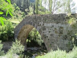 Canfranc. Pont Nou o de los Peregrinos