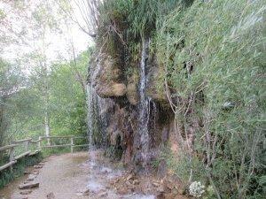 Cascada de agua en Santa Elena