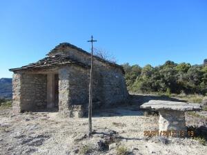 Ermita Santos Juan y Pablo. (Foto cedida por Jaime Lagüens)