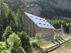Canfranc. Central hidroeléctrica