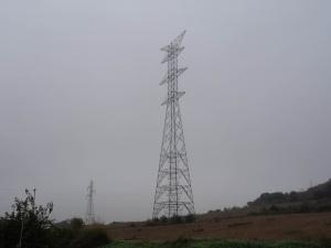 Torres de la línea Aragón - Cazaril