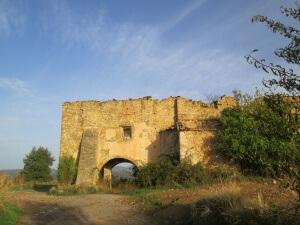 Lascuarre. Ruinas convento de los Trinitarios